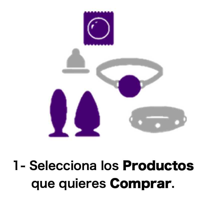 Selecciona los productos que quieres comprar.
